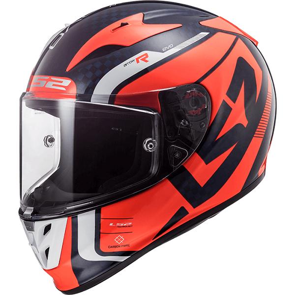 Motorradhelm für den Roller LS2 ARROW KARBON EVO STING M/O