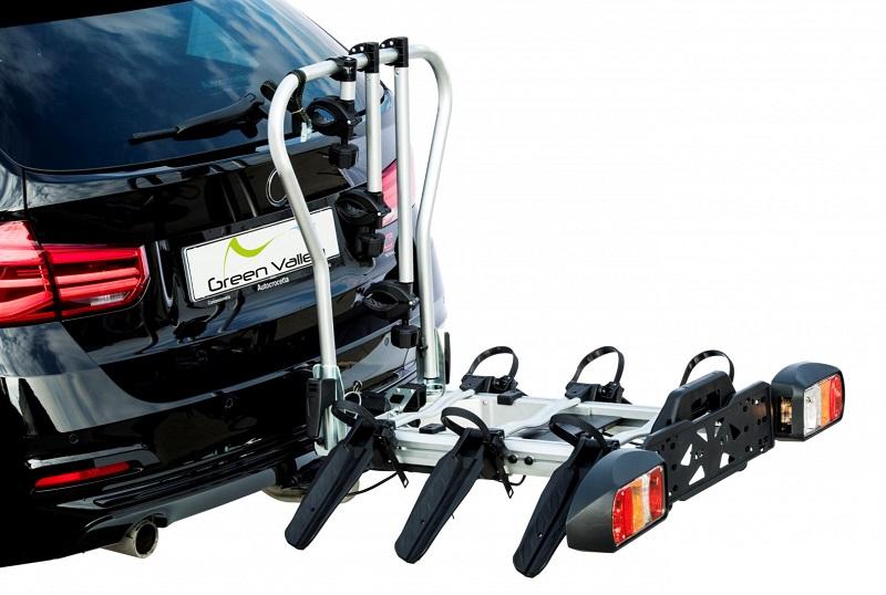 Fahrradträgern für Anhängekupplung